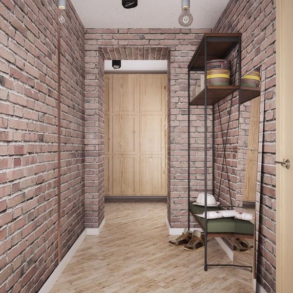 裸露的砖墙:怀旧复古风家居装修设计(2)图片