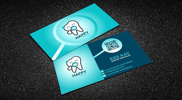 20款国外牙医名片设计