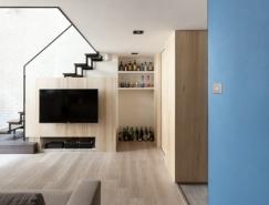 现代时尚的阁楼公寓设计