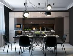 24个现代前卫的时尚家居餐厅设计