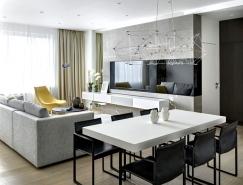 莫斯科现代感潮流公寓设计