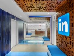 时尚色彩的LinkedIn多伦多办公室设计