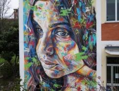 David Walker街头绘画艺术作品