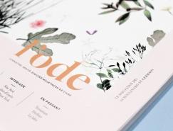 l'ode雜誌版面設計欣賞