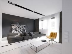 巧妙的空间利用:50平米小公寓设计