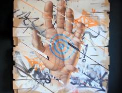 James Bullough超现实主义街头艺术作品