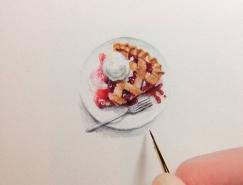 Karen Libecap令人惊叹的微型绘画作品