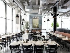 斯德哥爾摩極簡北歐風格餐廳設計