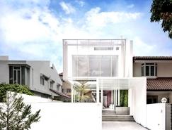 新加坡Greja透亮的玻璃别墅