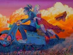 Natalia Rak街头壁画艺术作品