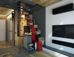 18平米超小微型公寓设计