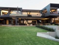 南非Kloof Road雕塑般的别墅设计