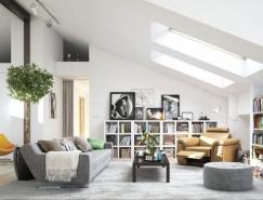 斯堪的纳维亚风格客厅设计欣赏
