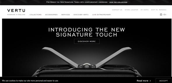 优雅的布局:25个豪华品牌网站设计
