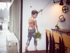 巧妙与自然互动的15个街头艺术作品