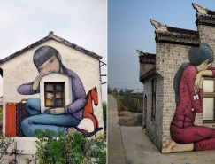 法国街头艺术家Seth Globepainter惊人的街头涂鸦作品