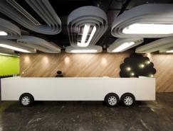曼谷Saatchi & Saatchi广告公司办公室设计