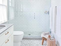 44个漂亮的白色卫生间设计