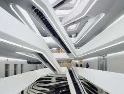黑与白的交响乐:俄罗斯Dominion办公楼设计