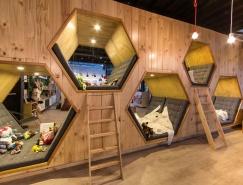哥伦比亚9¾ 书店咖啡馆空间设计