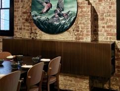 复古的砖墙和现代涂鸦:墨尔本LEE HO FOOK餐厅