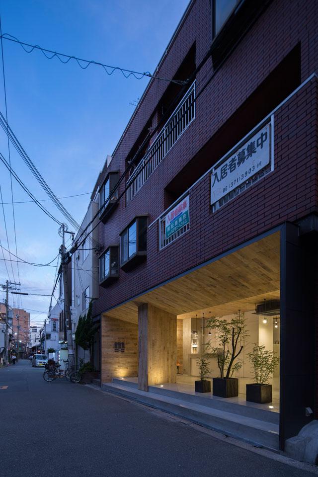 大阪Mook美发沙龙空间设计