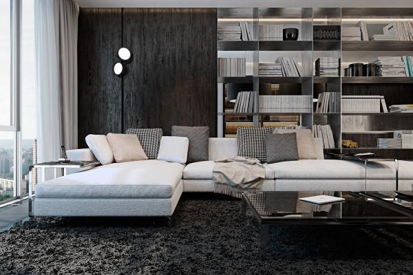 3个超酷黑色潮流风格装修设计欣赏