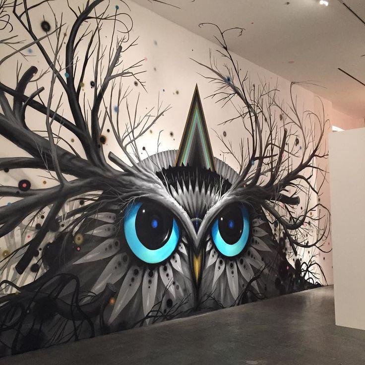 贼漂亮的创意街头涂鸦艺术作品欣赏_尚雅惠墙绘艺术