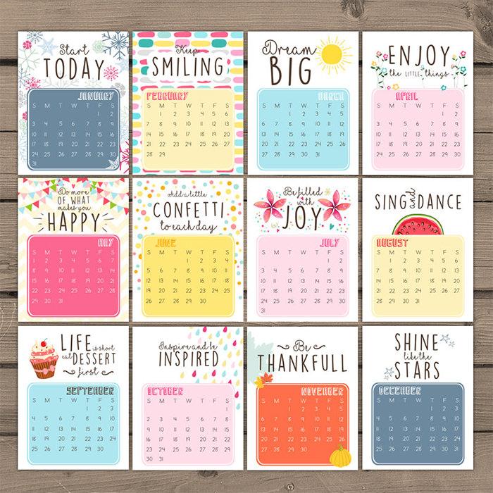 Diy Quote Calendar : 年国外创意日历和月历设计 设计之家