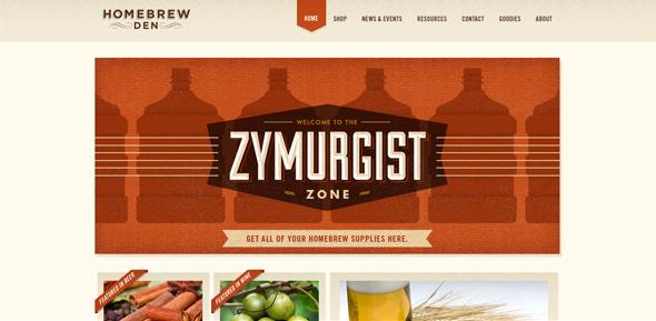 26个复古风格网站设计