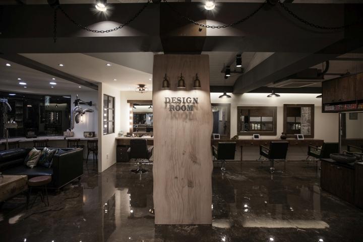 首尔Design Room美发沙龙空间设计