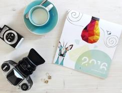 2016年國外創意日曆和月曆設計