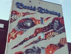 25个漂亮的街头涂鸦艺术作品