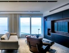 以色列时尚简约的公寓设计