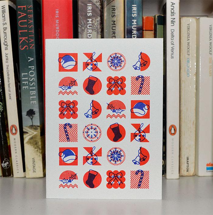 40个漂亮的国外圣诞卡片设计
