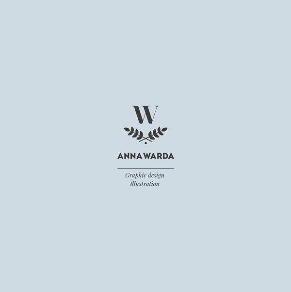 Anna Warda标志设计作品