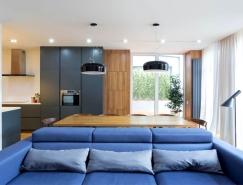 功能性和时尚简约的乌克兰现代住宅设计