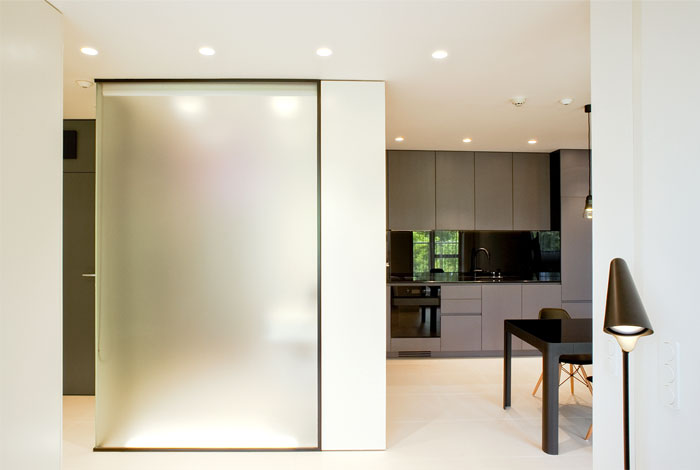 索非亚时尚的极简主义风格小公寓设计