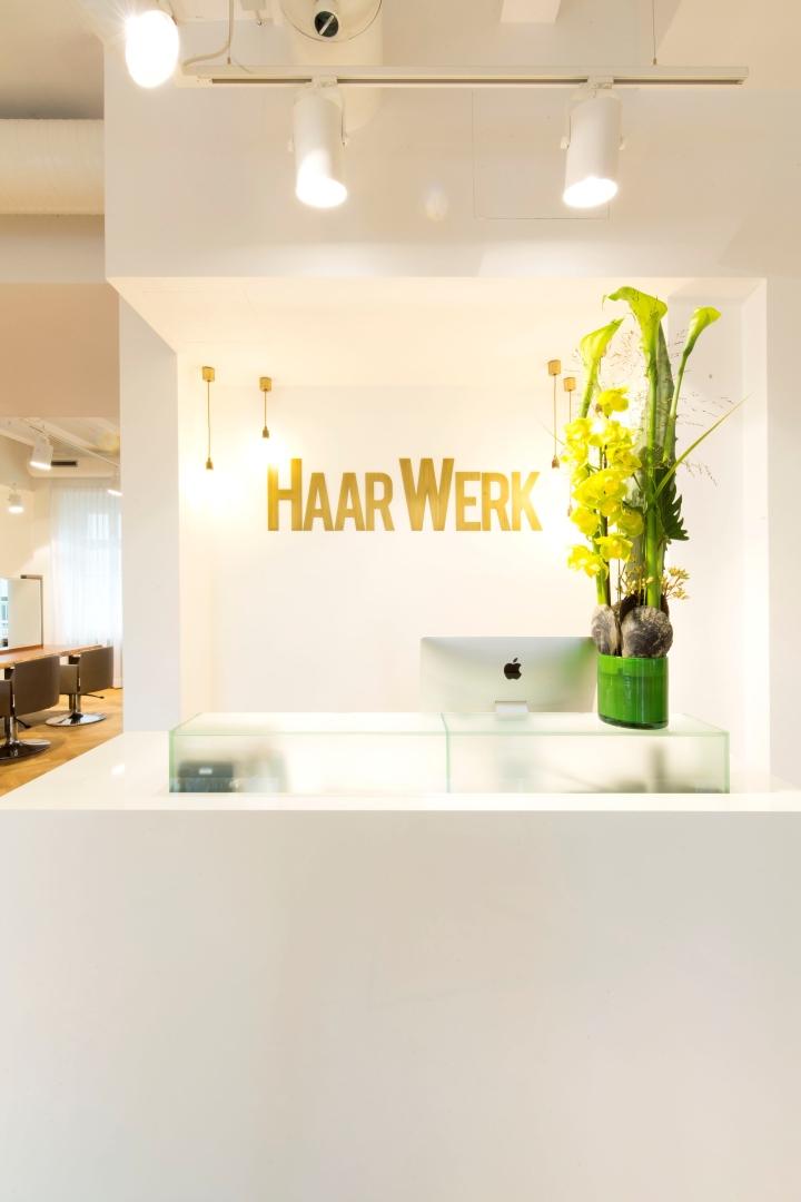 Haarwerk美发沙龙空间设计