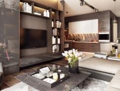 2个漂亮的现代风格公寓设计