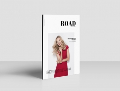 Road杂志版式设计欣赏