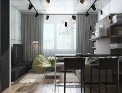 6个漂亮的30平米小户型公寓澳门金沙网址