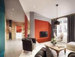 多彩别致的公寓装修设计