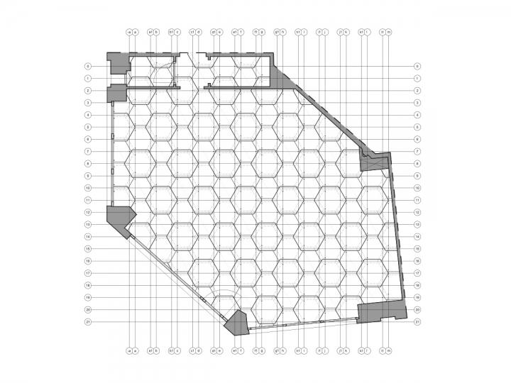 巴黎Les Dada East美发沙龙空间设计