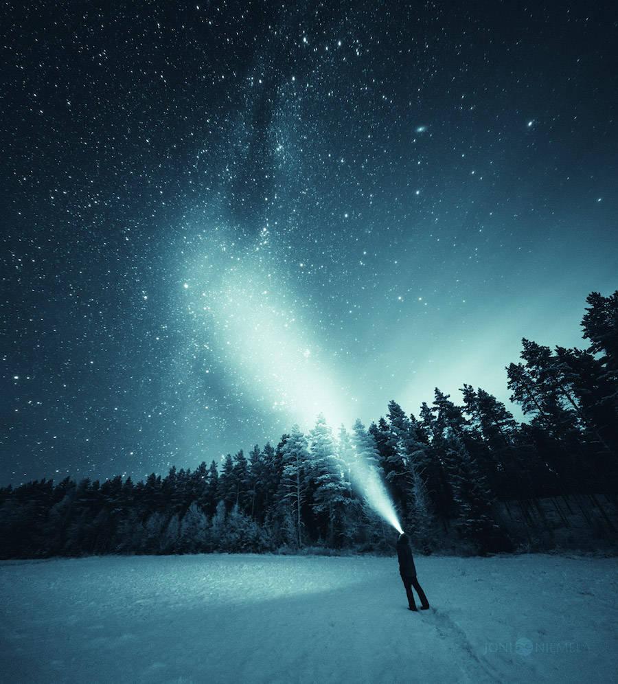 201602: 美丽的繁星夜空:Joni Niemelä摄影作品欣赏