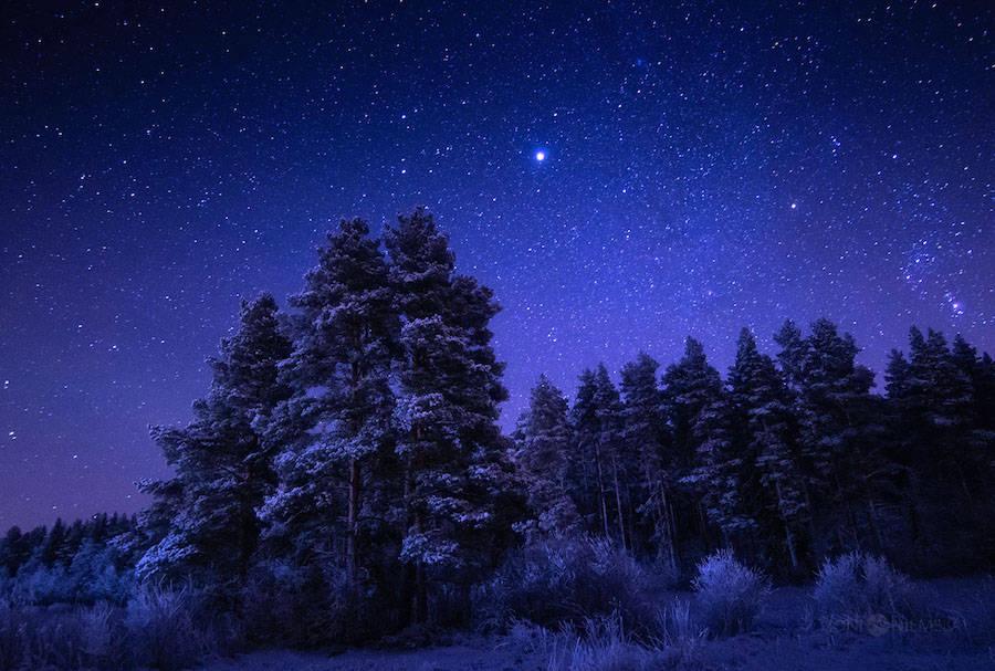 美丽的繁星夜空:Joni Niemelä摄影作品欣赏
