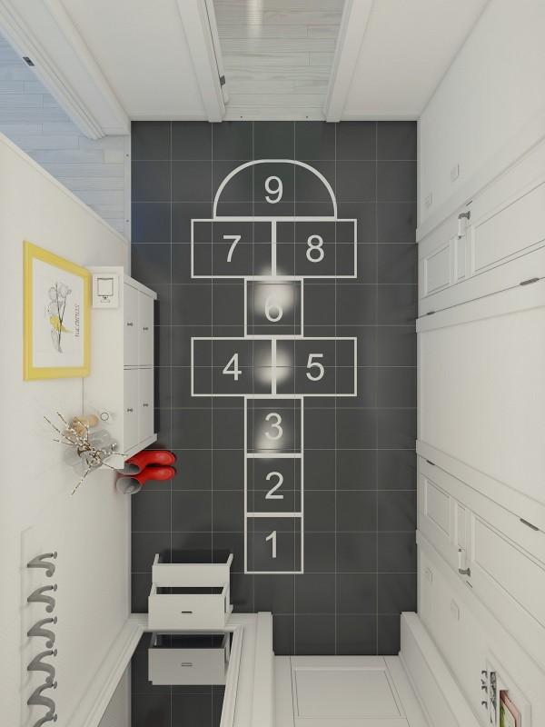 4个北欧简约风格公寓装修设计(2)
