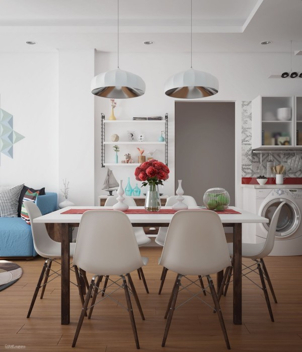 32个北欧风格餐厅装修设计