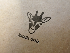 标志设计元素运用实例:长颈鹿(三)