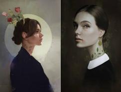 Krisztian Tejfel漂亮的女性肖像插